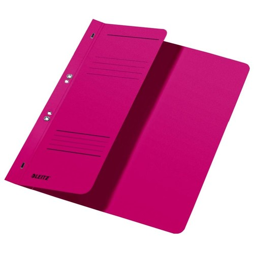 Ösenhefter 1/2 Vorderdeckel kaufmännische Heftung 238x305mm für 170Blatt rot Karton Leitz 3740-00-25 Produktbild Front View L