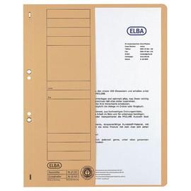 Ösenhefter 1/2 Vorderdeckel kaufmännische Heftung 240x350mm für 200Blatt rot Karton Elba 100551882 Produktbild