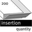 Ösenhefter 1/2 Vorderdeckel kaufmännische Heftung 240x305mm für 200Blatt grau Karton Elba 100551880 Produktbild Additional View 3 S