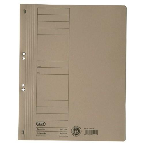 Ösenhefter 1/1 Vorderdeckel 240x305mm für 200Blatt gelb Karton Elba 100551871 Produktbild Additional View 1 L