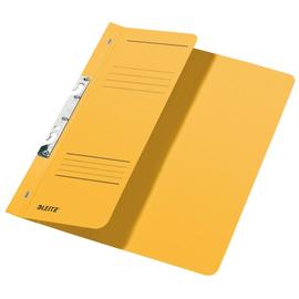 Schlitzhefter 1/2 Vorderdeckel für kaufmännische Heftung 238x305mm für 170Blatt gelb Karton Leitz 3744-00-15 Produktbild