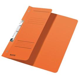 Schlitzhefter 1/2 Vorderdeckel für kaufmännische Heftung 238x305mm für 170Blatt orange Karton Leitz 3744-00-45 Produktbild
