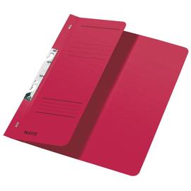 Schlitzhefter 1/2 Vorderdeckel für kaufmännische Heftung 238x305mm für 170Blatt rot Karton Leitz 3744-00-25 Produktbild