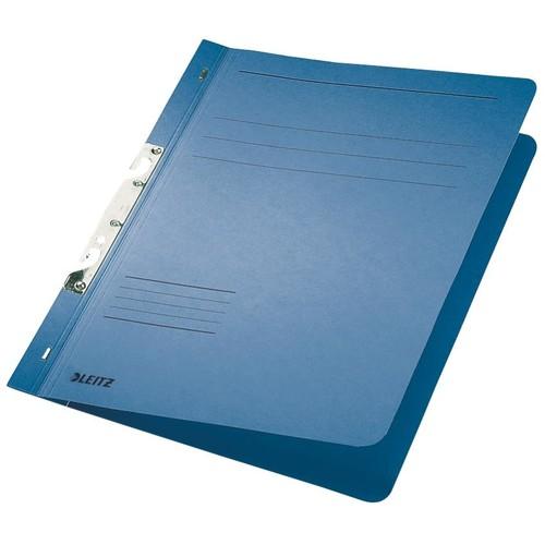 Schlitzhefter 1/1 Vorderdeckel für kaufmännische Heftung 240x305mm für 170Blatt blau Karton Leitz 3746-00-35 Produktbild Front View L