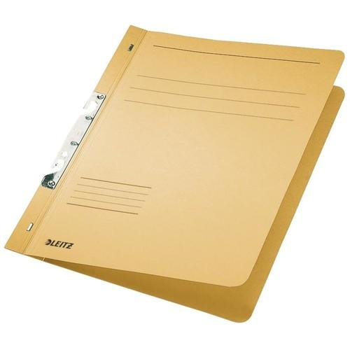 Schlitzhefter 1/1 Vorderdeckel für kaufmännische Heftung 240x305mm für 170Blatt chamois Karton Leitz 3746-00-11 Produktbild Front View L