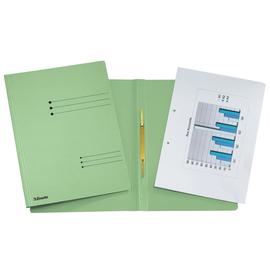 Schnellhefter A4 grün Karton Esselte 621058 Produktbild