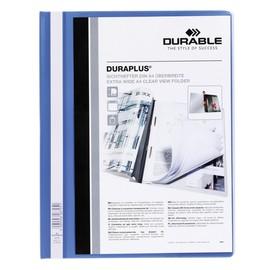 Präsentationshefter Duraplus A4 Überbreite blau Durable 2579-06 Produktbild