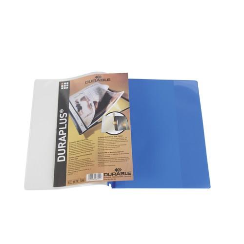 Präsentationshefter Duraplus A4 Überbreite blau Durable 2579-06 Produktbild Additional View 3 L