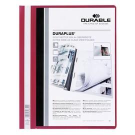 Präsentationshefter Duraplus A4 Überbreite rot Durable 2579-03 Produktbild