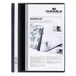 Präsentationshefter Duraplus A4 Überbreite schwarz Durable 2579-01 Produktbild Additional View 1 S
