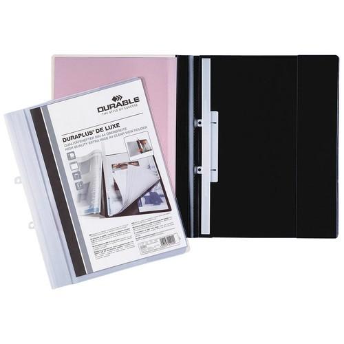 Präsentationshefter Duraplus De Luxe A4 Überbreite weiß Durable 2589-02 Produktbild Additional View 1 L