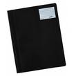 Schnellhefter opak A4 mit Beschriftungsfenster+Innentasche schwarz Durable 2500-01 Produktbild
