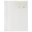 Schnellhefter opak A4 mit Beschriftungsfenster+Innentasche weiß Durable 2500-02 Produktbild