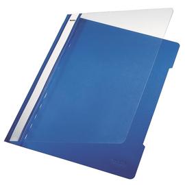Schnellhefter Vorderdeckel transparent A4 blau PVC Leitz 4191-00-35 Produktbild