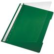 Schnellhefter Vorderdeckel transparent A4 grün PVC Leitz 4191-00-55 Produktbild