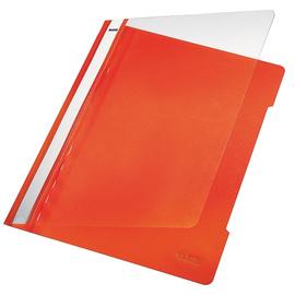 Schnellhefter Vorderdeckel transparent A4 orange PVC Leitz 4191-00-45 Produktbild