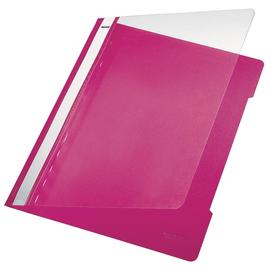 Schnellhefter Vorderdeckel transparent A4 pink PVC Leitz 4191-00-22 Produktbild