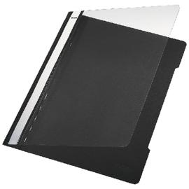 Schnellhefter Vorderdeckel transparent A4 schwarz PVC Leitz 4191-00-95 Produktbild