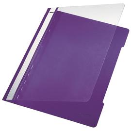 Schnellhefter Vorderdeckel transparent A4 violett PVC Leitz 4191-00-65 Produktbild