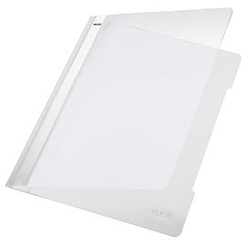 Schnellhefter Vorderdeckel transparent A4 weiß PVC Leitz 4191-00-01 Produktbild