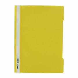 Schnellhefter Vorderdeckel transparent A4 gelb Plastik - neutral - 840/03 Produktbild