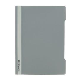 Schnellhefter Vorderdeckel transparent A4 grau Plastik - neutral - 840/05 Produktbild
