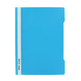 Schnellhefter Vorderdeckel transparent A4 hellblau Plastik - neutral - 840/11 Produktbild