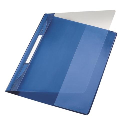 10 PVC Schnellhefter DIN A4 hellblau Farbe