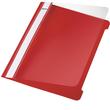 Schnellhefter Vorderdeckel transparent A5 rot PVC Leitz 4197-00-25 Produktbild