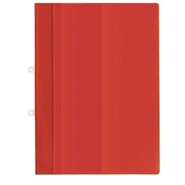 Schnellhefter mit Abheftvorrichtung und Innentasche A4 rot PVC Veloflex 4740021 Produktbild