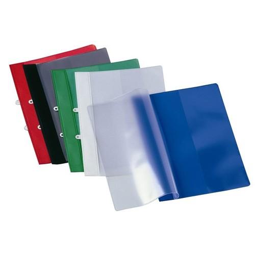 Schnellhefter mit Abheftvorrichtung und Innentasche A4 schwarz PVC Veloflex 4740080 Produktbild Additional View 1 L