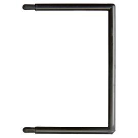 Flexofil Schlauchheftung Stecker für 1719 85x60mm schwarz Kunststoff Leitz 1721-00-95 (PACK=50 STÜCK) Produktbild