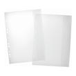 Dokumentenhüllen mit Klappe A4 PVC glasklar Pagna 30601 (BTL=5 STÜCK) Produktbild Additional View 1 S