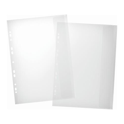 Dokumentenhüllen mit Klappe A4 PVC glasklar Pagna 30601 (BTL=5 STÜCK) Produktbild Additional View 1 L
