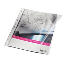 Dokumentenhülle mit Klappe A4 120µ PP genarbt Leitz 4764-00-00 Produktbild