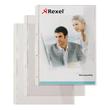 Dokumentenhüllen mit Klappe A4 überbreit 180µ transparent Rexel 226784 (BTL=5 STÜCK) Produktbild Additional View 1 S