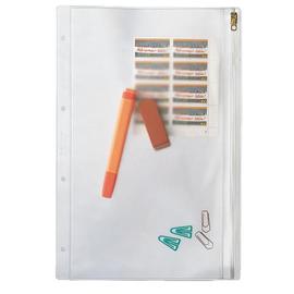 Kleinkrambeutel mit Reißverschluß A4 200µ farblos PVC Leitz 4040-00-00 Produktbild