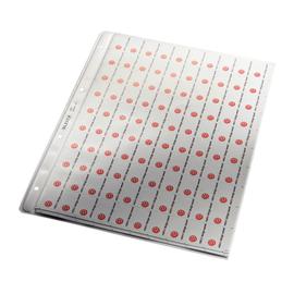 Prospekthülle mit Papiereinlage A4 130µ PP genarbt Leitz 4720-00-03 Produktbild