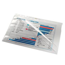 Prospekthülle oben + Lochseite offen A4 80µ PVC glasklar Leitz 4744-00-00 Produktbild