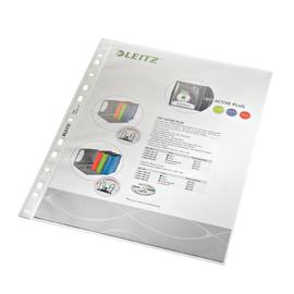 Prospekthüllen oben offen 90µ PP A4 genarbt Leitz 4790-00-00 (PACK=100 STÜCK) Produktbild