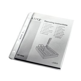 Prospekthülle oben offen A5 130µ PP genarbt extrastark Leitz 4705-00-03 Produktbild