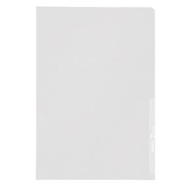 Sichthülle oben + rechts offen A4 130µ farblos PP genarbt Leitz 4000-00-03 Produktbild