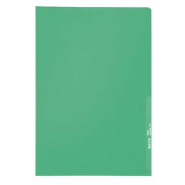Sichthülle oben + rechts offen A4 130µ grün PP genarbt Leitz 4000-00-55 Produktbild