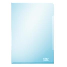 Sichthülle oben + rechts offen A4 150µ blau PVC glasklar Leitz 4153-00-35 Produktbild