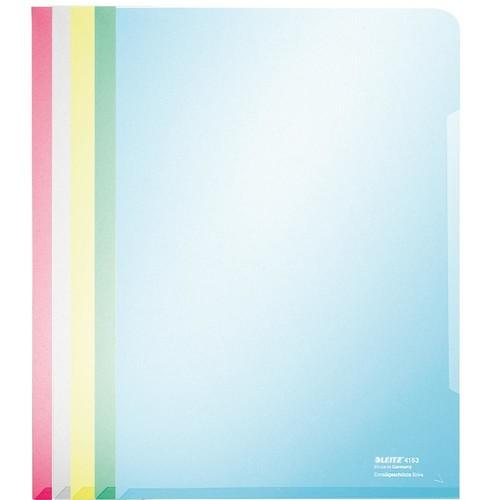 Sichthülle oben + rechts offen A4 150µ farblos PVC glasklar Leitz 4153-00-03 Produktbild Additional View 1 L