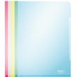 Sichthüllen oben + rechts offen A4 150µ sortiert PVC glasklar Leitz 4153-00-99 (PACK=100 STÜCK) Produktbild