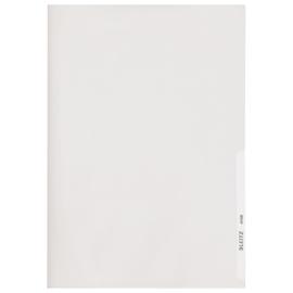 Sichthülle oben + rechts offen A4 150µ glasklar PVC Hartfolie Leitz 4106-00-02 Produktbild