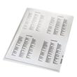 Sichthülle oben + rechts offen A4 100µ farblos PVC Hartfolie Leitz 4110-00-00 Produktbild