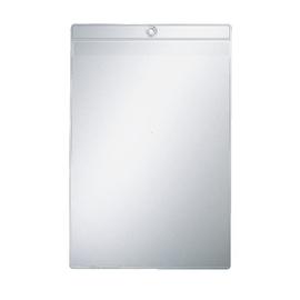Sichttasche mit Öse oben offen A4 200µ farblos PVC genarbt Leitz 4094-00-00 Produktbild