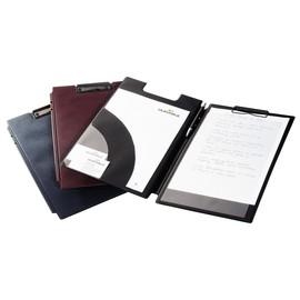Blockmappe Spezial mit Einstecktaschen A4 Übergröße für Durchschreibesätze schwarz Durable 2332-01 Produktbild